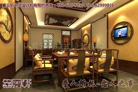 西宁某客户酒店中式装修图片