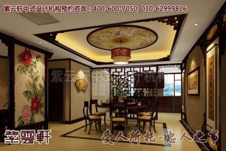 安徽吴总餐厅中式装修效果图