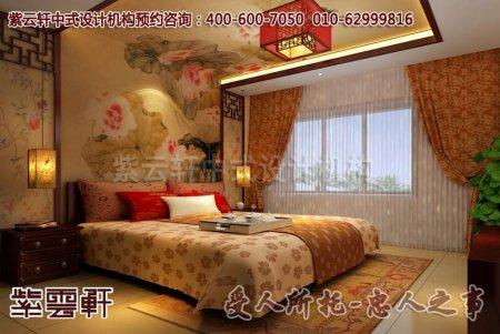 浙江赵总别墅儿童房中式设计图片