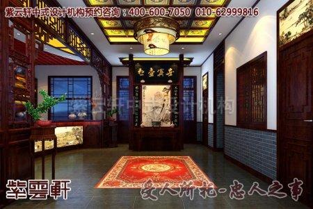 中式店面门厅装修图片