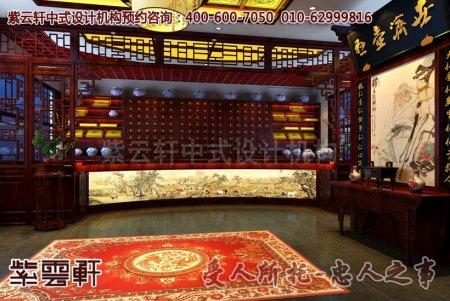 上海孙先生中式店面装修图片