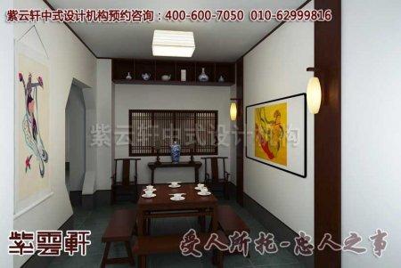 深圳李总古典办公室中式装修效果图