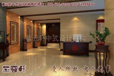 深圳朱总古典风格店面中式装修效果图