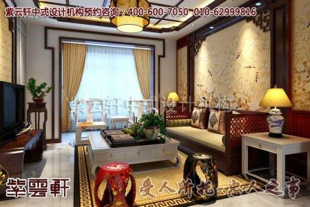 扬州某客户新中式别墅装修效果图