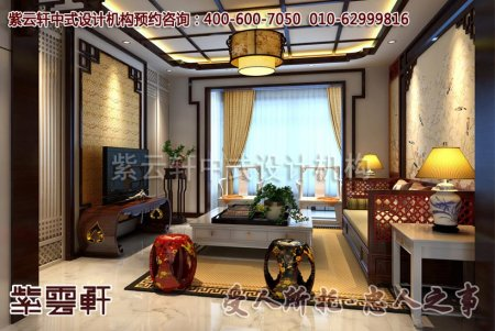扬州某客户别墅茶室中式装修图片