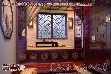 营口张总复式住宅茶室中式装修图片