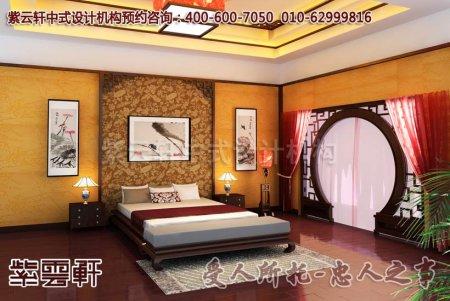 浙江某客户中式卧室装修图片