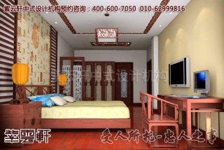 台州李女士古典别墅中式装修效果图