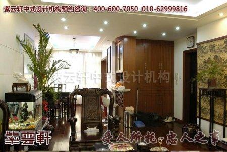 天津家装中式客厅装修效果图