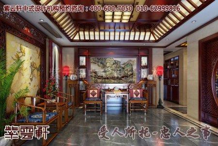 中式别墅设计图片之徐州某客户豪宅
