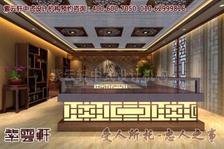 登封收藏馆中式店面装修效果图之展厅