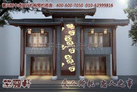 中式店面装修图片之门头