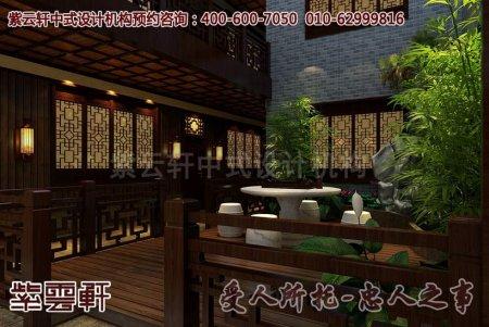 贵州度假村中式酒店装修图片