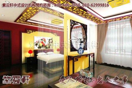 别墅古典中式装修图片―卧室