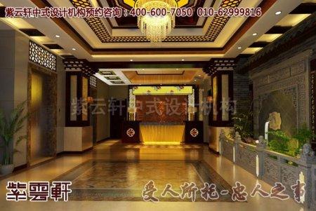 养生足疗中式会所装修图片之正厅