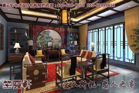 简约欧式风格别墅客厅入户门玄关吊顶装修效果图