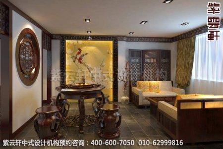 上海某客户办公室中式装修案例-书房