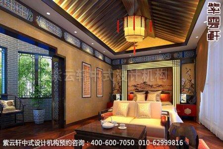 古典中式装修设计-卧室中式装修效果图