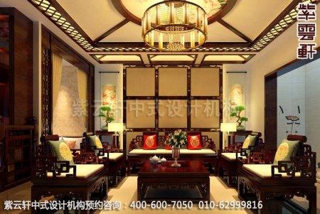 客厅中式装修设计-客厅装修效果图赏析2