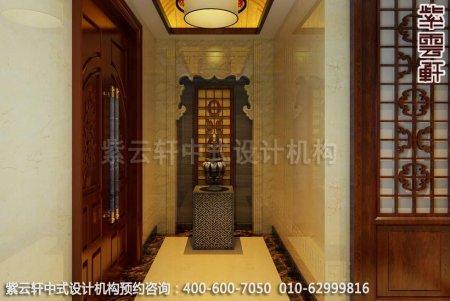 中式装修-现代中式装修,门厅装修效果图