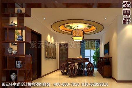 中式装修设计之餐厅中式装修效果图,古典中式装修