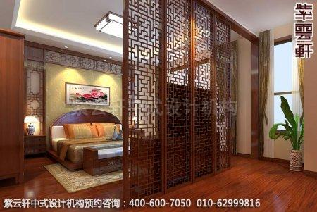 中式装修设计之卧室中式装修效果图,古典中式装修