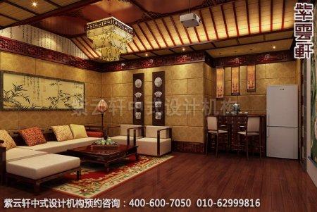 古典中式装修,中式家装顶层影音室中式装修效果图