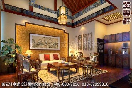 古典中式装修,中式家装顶层客厅中式装修效果图