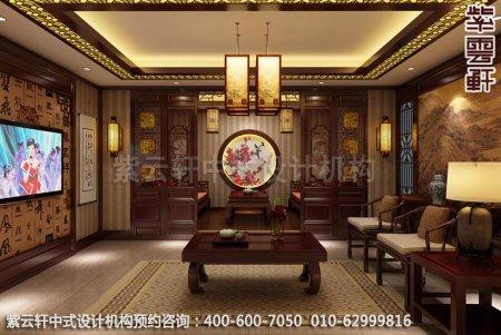 公装设计-茶楼茶茶馆-湛江茶会所茶室中式装修效果图