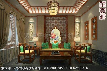 公装设计-休闲会所-扬州尤先生私人会所茶室中式装修效果图