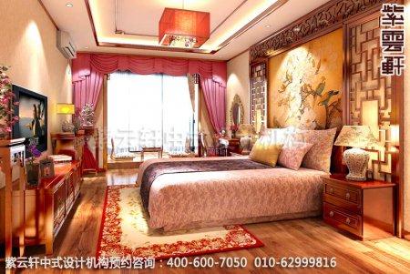 精品复式住宅-郑州陈女士简约中式装修之主卧室装修效果图