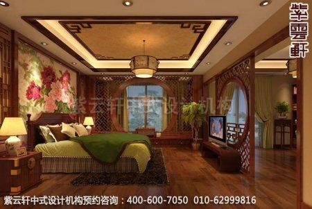 现代中式风格诠释的美好生活-精品住宅中式装修卧室装修效果图
