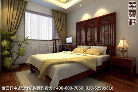 现代中式风格再现中国文化神韵-精品住宅中式装修卧室装修效果图