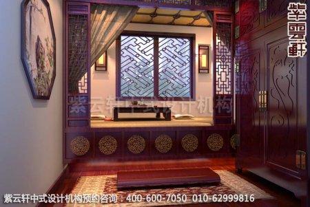 现代中式风格再现中国文化神韵-精品住宅中式装修茶室装修效果图