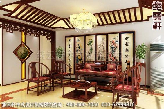 具有南方神韵的古典家居设计中式装修之客厅装修效果图