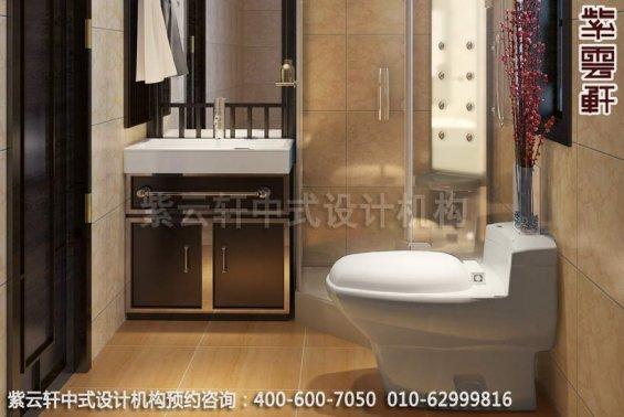 具有南方神韵的古典家居设计中式装修之卫生间装修效果图