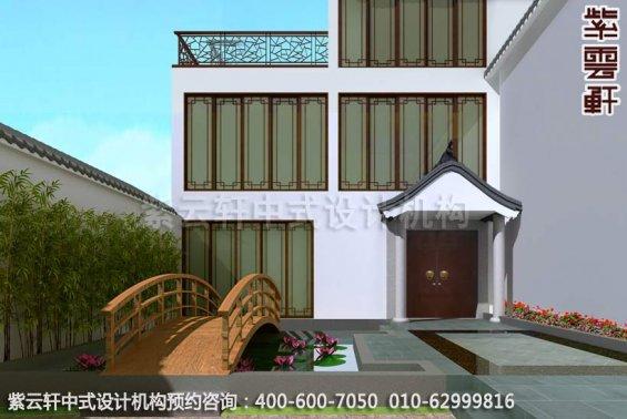 别墅装修装修效果图-现代中式设计-庭院装修效果图