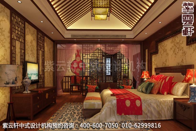 现代中式风格别墅设计-惬意半闲豪宅中式装修-客厅中式装修
