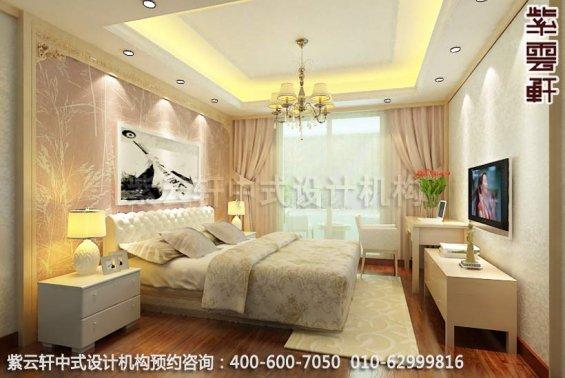 风雅而古典魅力―新中式家居设计装修效果图-卧室新中式装修效果