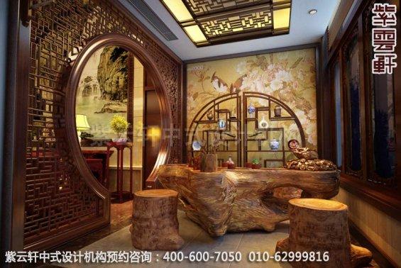 风雅而古典魅力―新中式家居设计装修效果图-茶室新中式装修效果