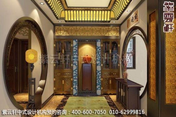 简约风格阳光都市家居-中式设计装修-过道中式装修效果图