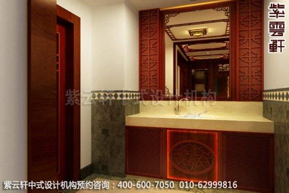 摒弃奢华崇尚简约-古典中式装修-卫生间中式装修效果图