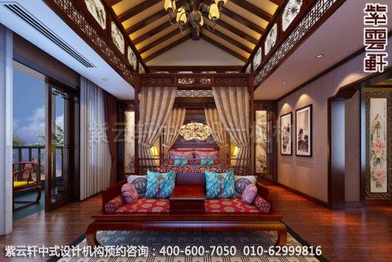 山水之间梦回唐朝-古典中式装修-卧室中式装修效果图赏析
