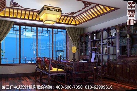 书房中式装修效果图-典雅气质彰显中式魅力-精品住宅