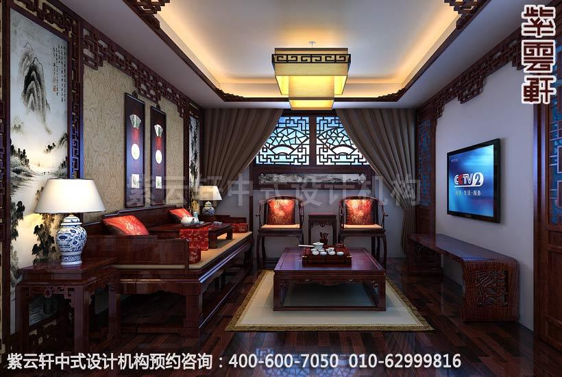 茶室中式裝修效果圖,傳統與時尚的結合-住宅新中式裝修效果圖