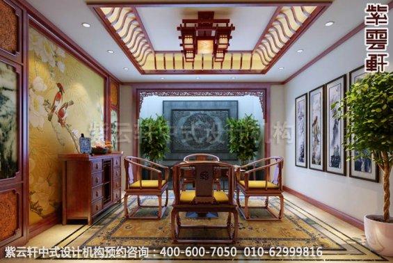 棋牌室中式装修效果图,静化艺术氛围―古典中式家居设计装修