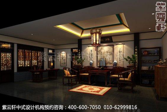 酒店特惠客房中式装修效果图_贵州古典酒店中式设计案例