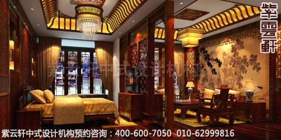 酒店套房E中式装修效果图_湖南古典酒店中式设计案例