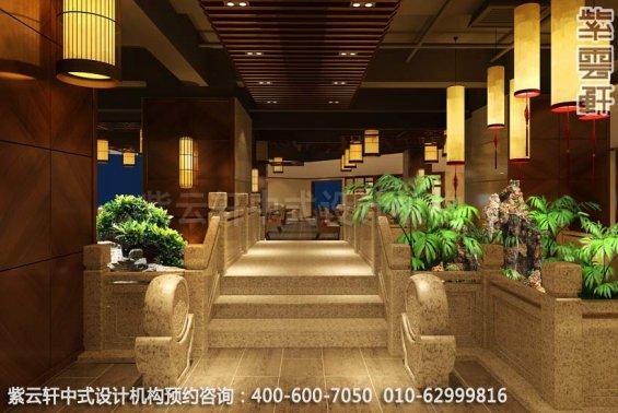 餐厅水景区域中式装修效果图_ 玉锦湾简约餐厅中式案例