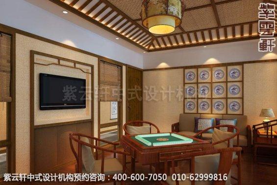 餐厅小包间中式装修效果图_玉锦湾简约餐厅中式设计案例